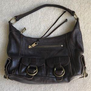 Banana Republic Genuine Leather Ashbury Hobo Bag